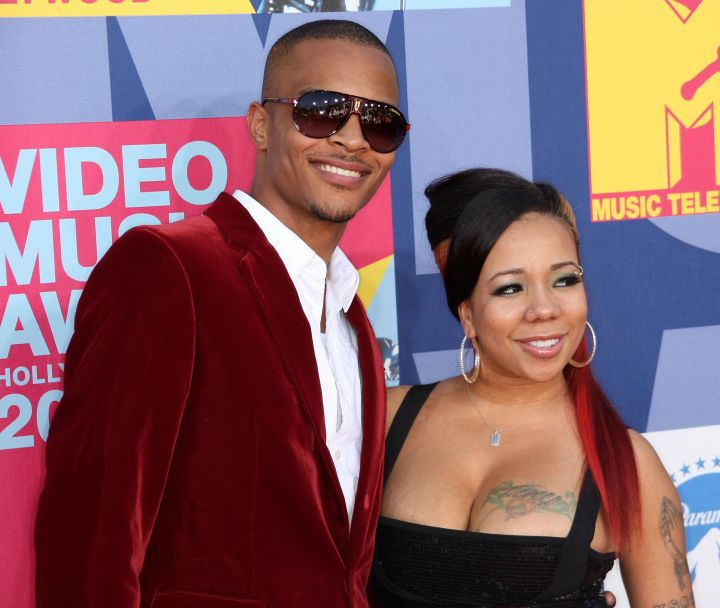 T.I. And Tiny Hit The Red Carpet