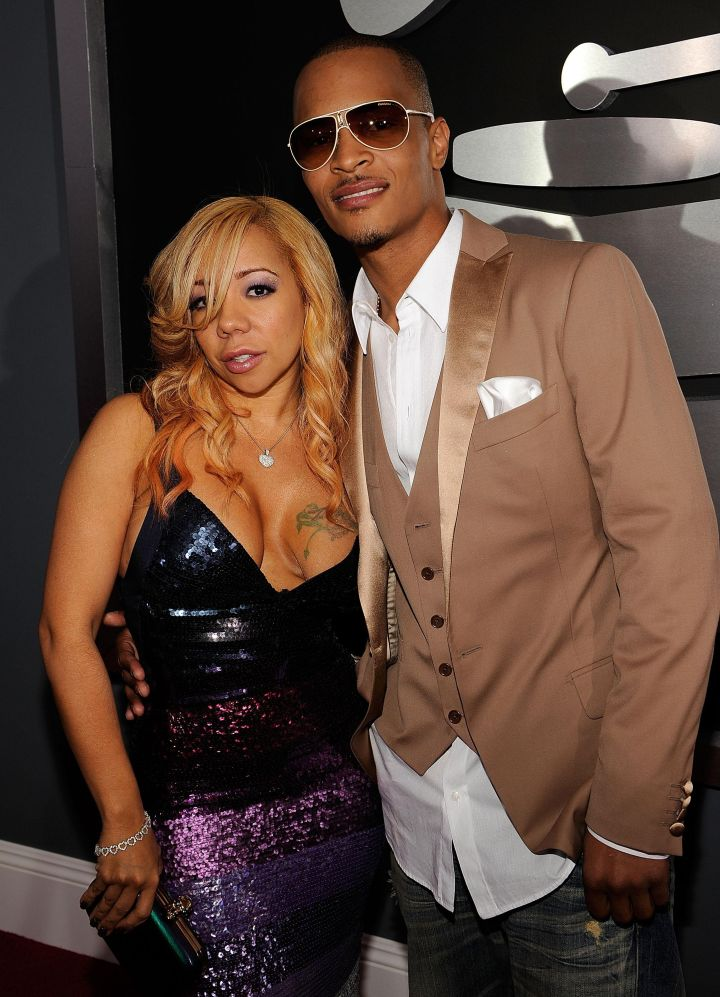 Classic Blonde Tiny With Handsome T.I.