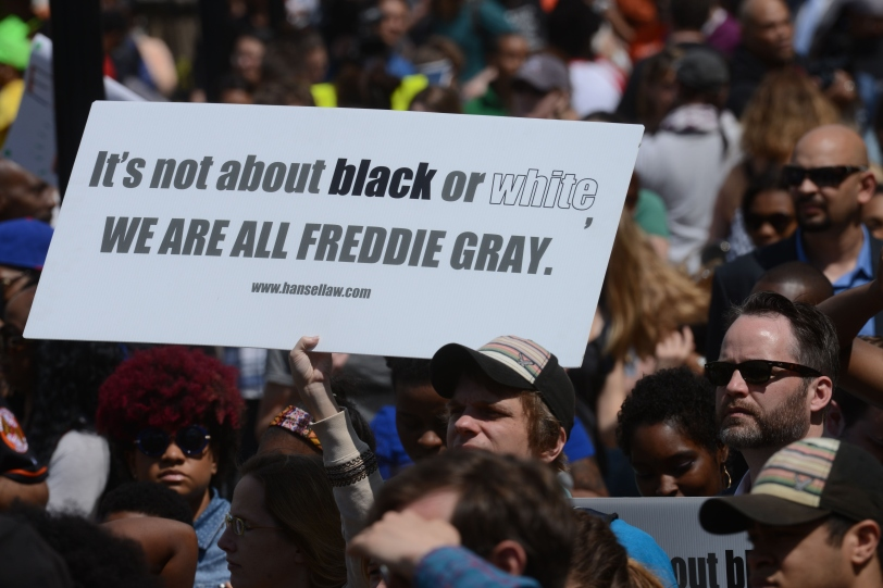 Protest and Rally in Baltimore
