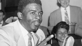 Jackie Robinson Addresses Congress