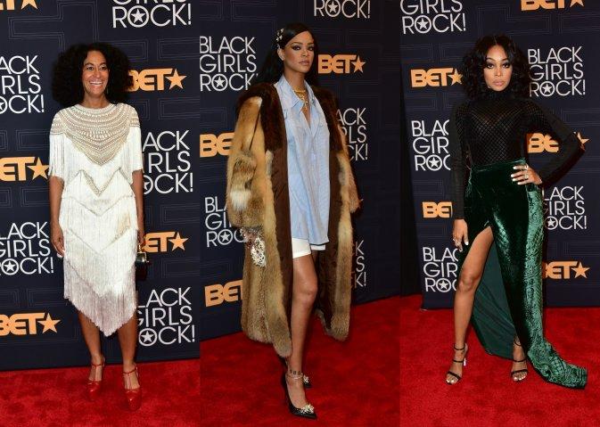 Tracee Ellis Ross, Rihanna, Monica