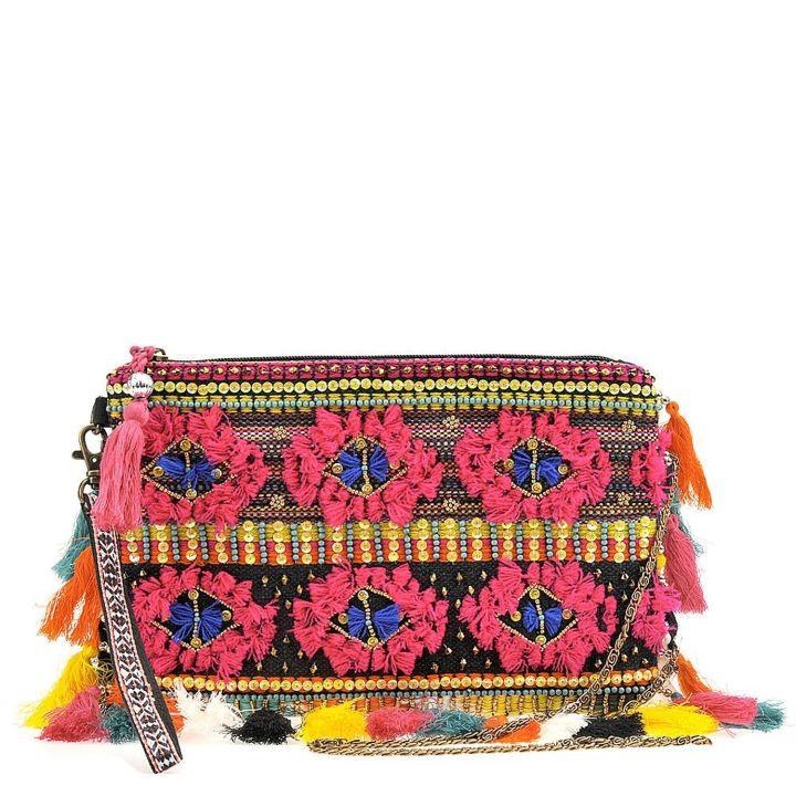 No: Fringe Handbag, Yes: Embroidered Handbag