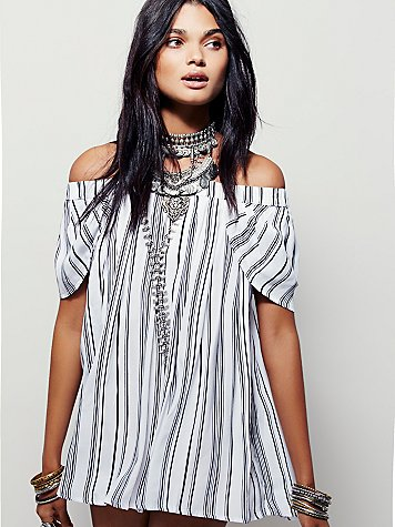 No: Bodycon, Yes: Off Shoulder Dress