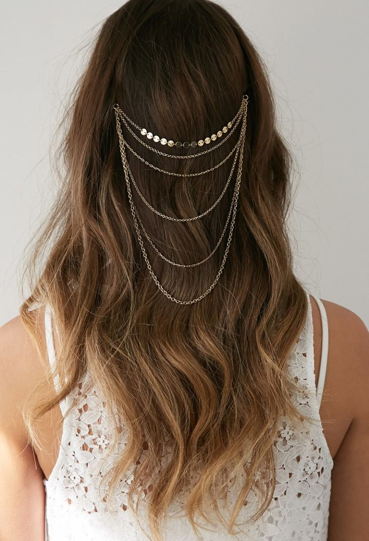 No: Flower Crowns, Yes: Head Chains