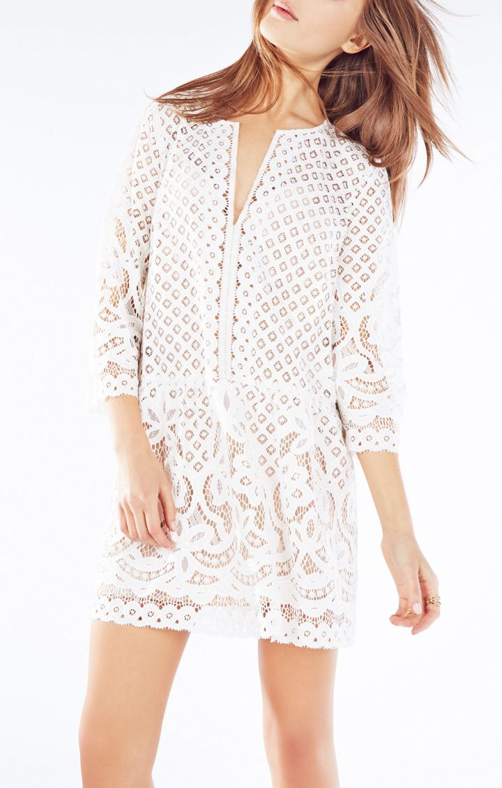 No: Crochet, Yes: White Lace