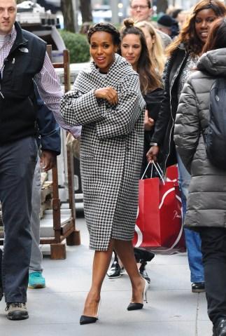 Celebrity Sightings in New York City - April 8, 2016