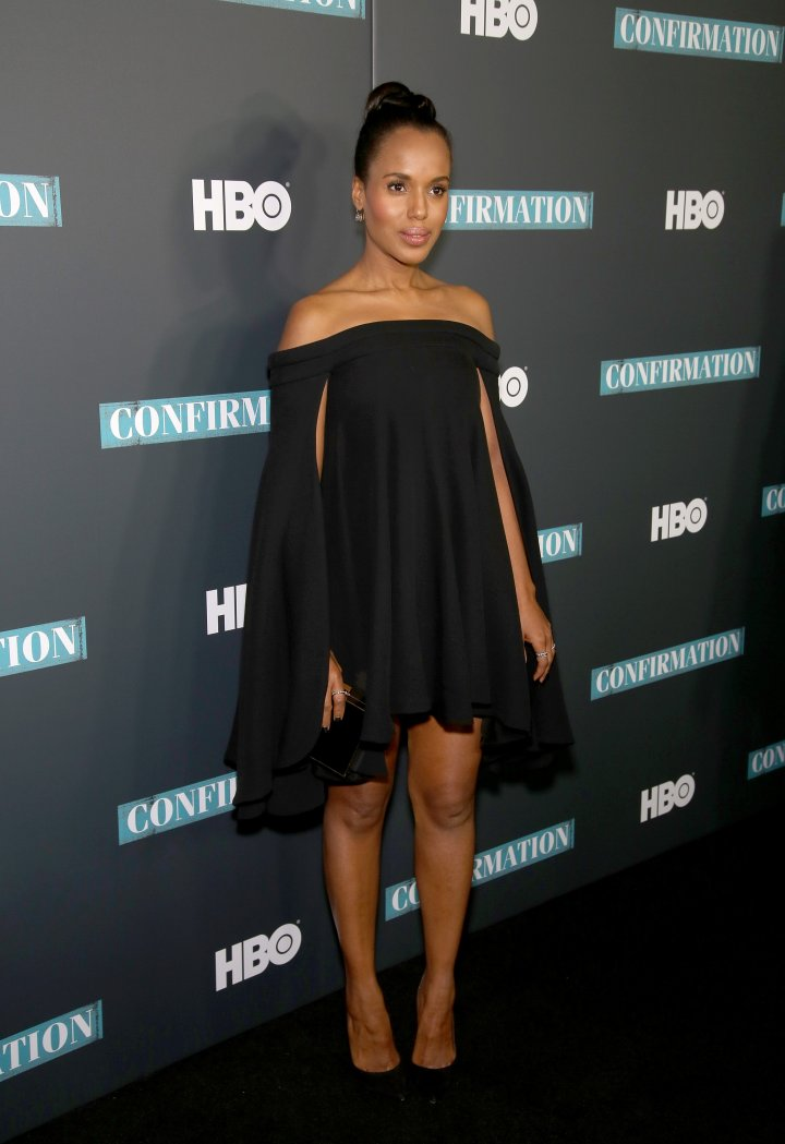 Kerry Washington attends the NYC Special Screening of HBO Film 'Confirmation'