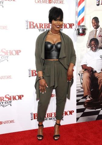 Premiere Of New Line Cinema's 'Barbershop: The Next Cut' - Arrivals
