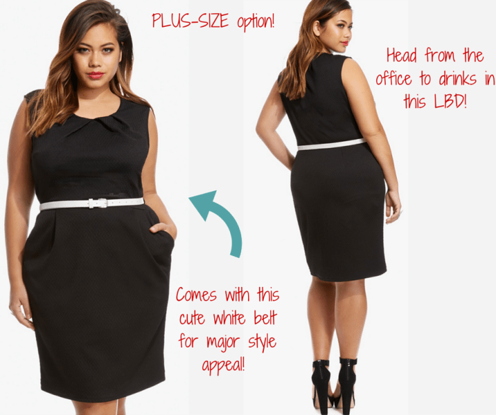 Fashion To Figure: Claire Belted Sheath Dress