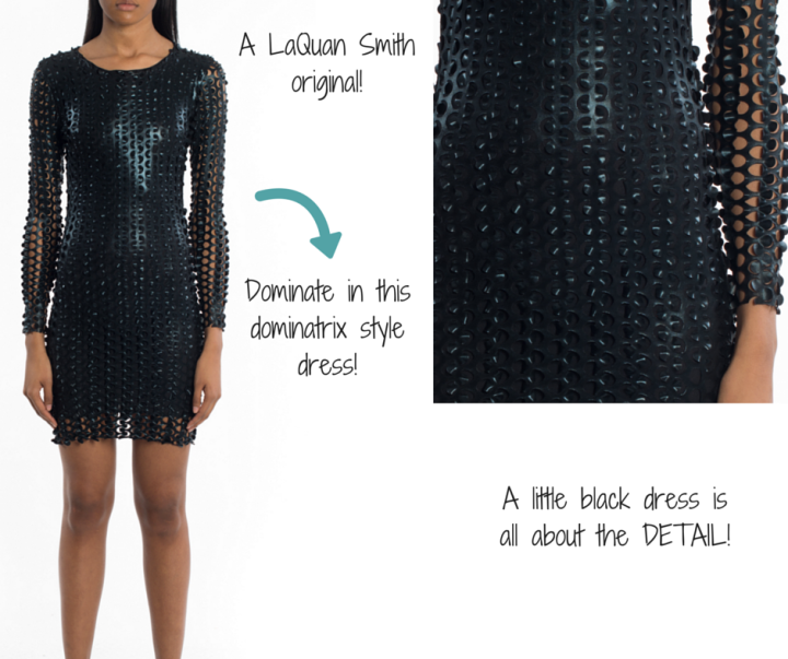 LAQUAN SMITH || 3D Dress