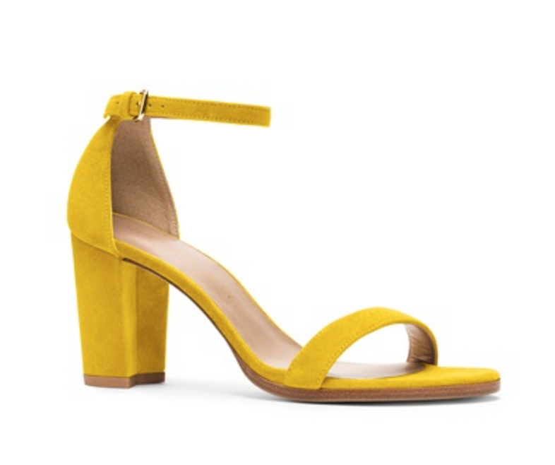 Stuart Weitzman Pencils for a cause sandal