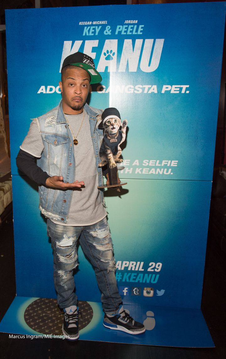 T.I. Hosts 'Keanu' Screening In ATL