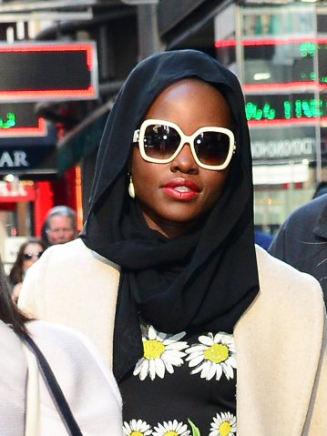 Celebrity Sightings in New York City - April 14, 2016