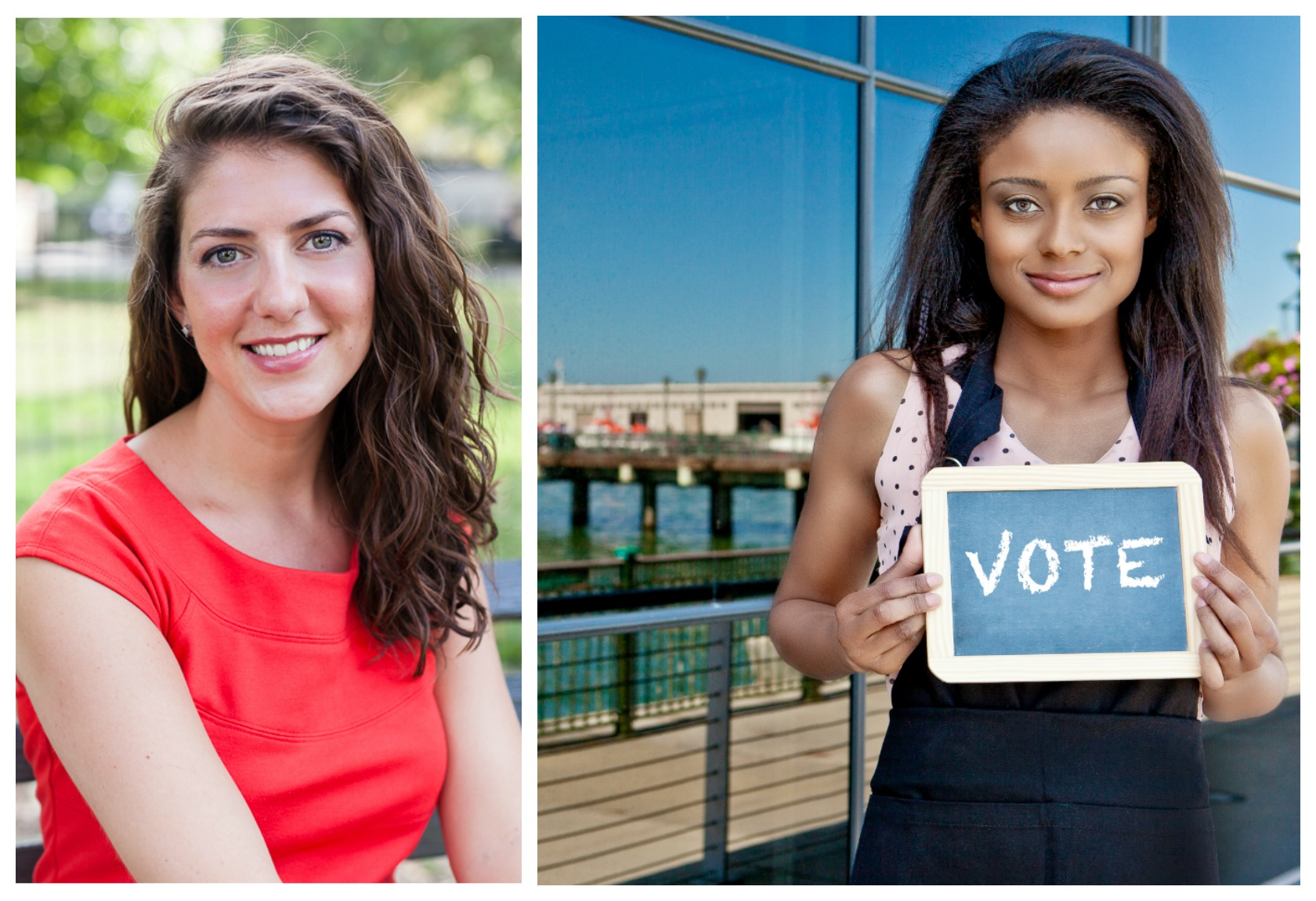 Erin Vilardi / Woman voter