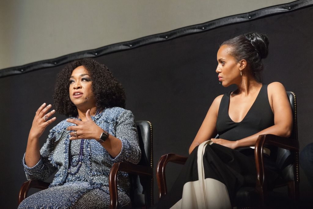 Smithsonian Associates Hosts 'Scandal-ous!' An Evening With Shonda Rhimes And The Cast Of ABC's 'Scandal'