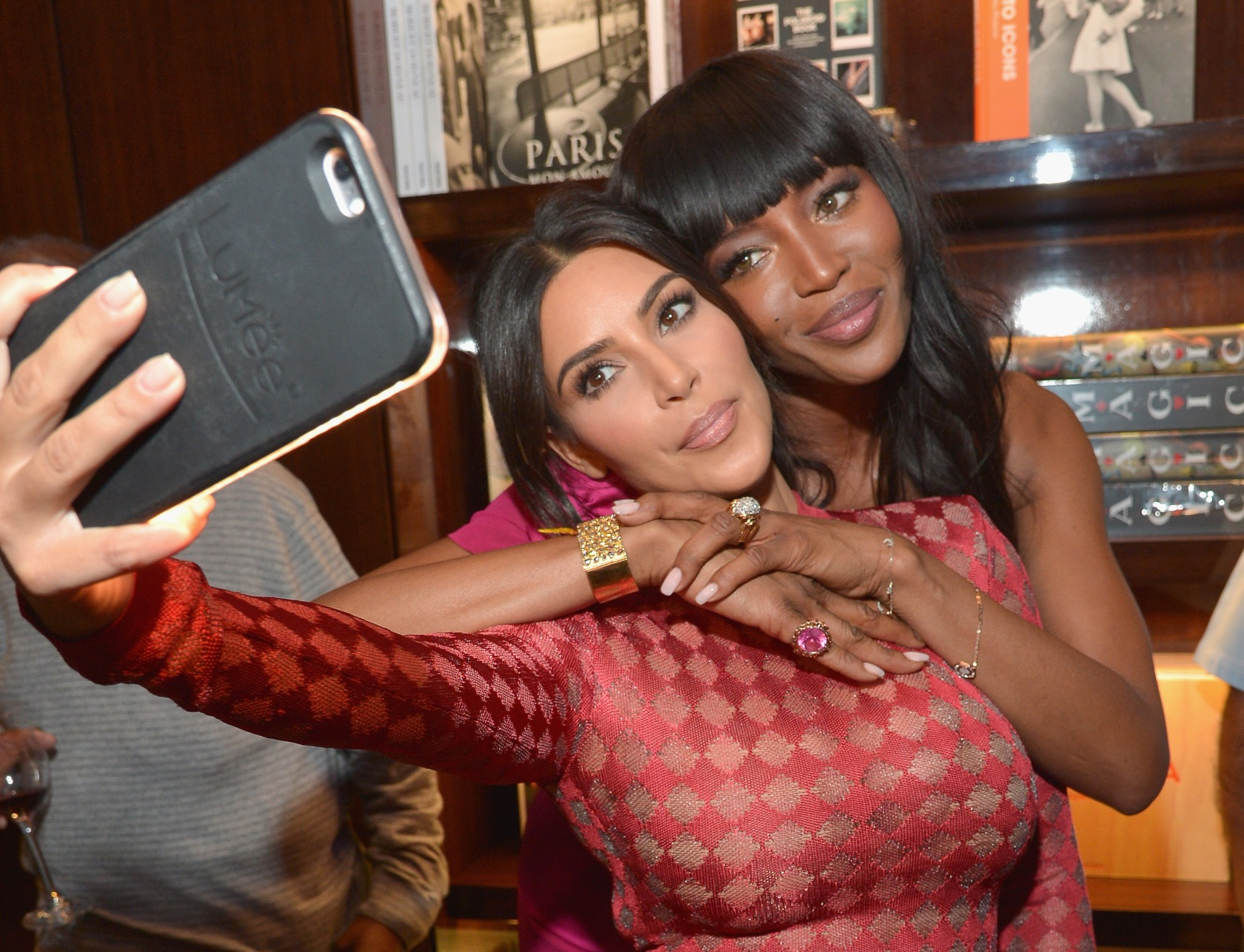 Naomi Campbell And Benedikt Taschen Celebrate The Los Angeles Launch Of 'Naomi' At Taschen Beverly Hills