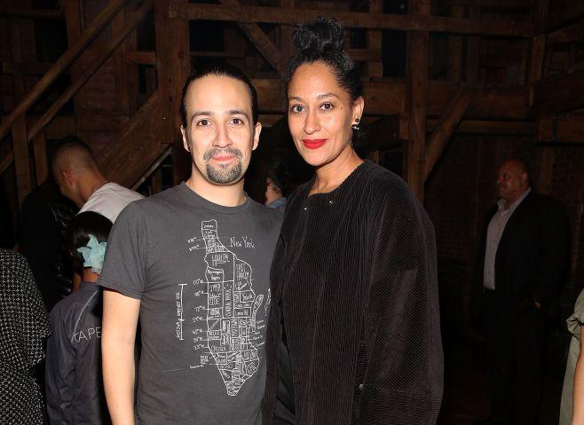 Tracee Ellis Ross Visits Broadway's 'Hamilton'