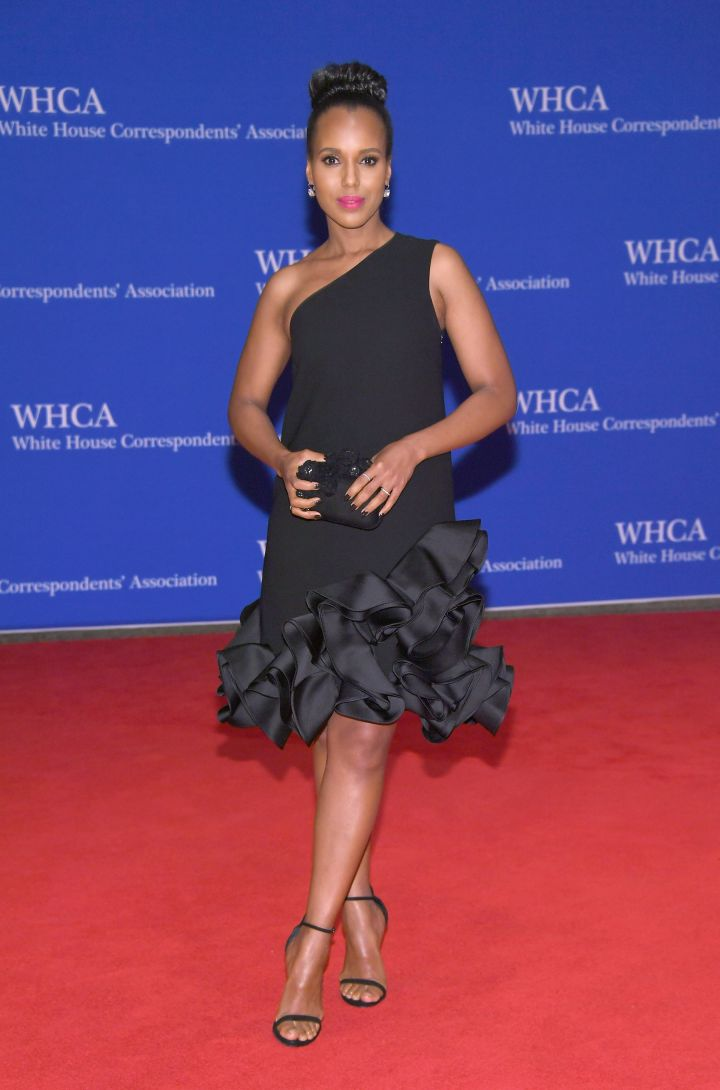 Kerry Washington attends the 102nd White House Correspondents' Association Dinner