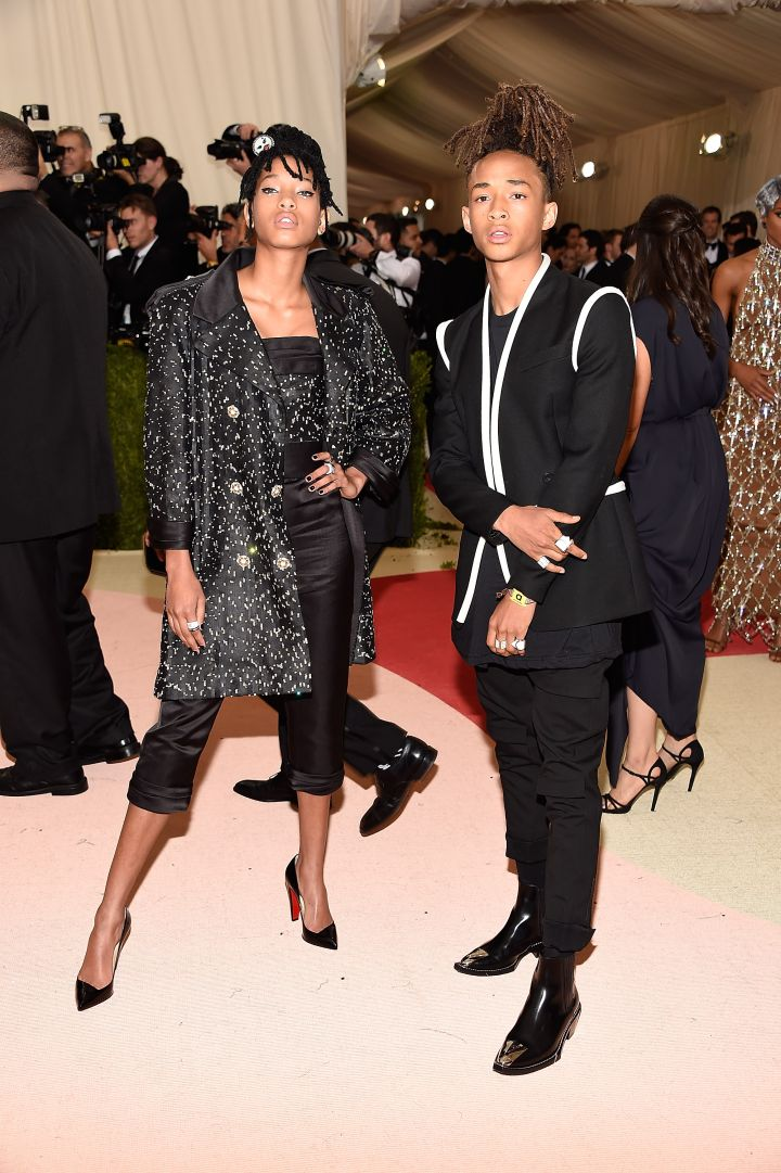Willow and Jaden Smith