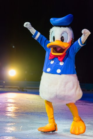 Donald Duck: Disney on Ice celebrates 100 hundred years of...