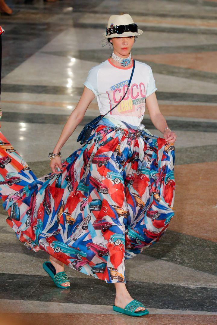 Maxi skirt madness