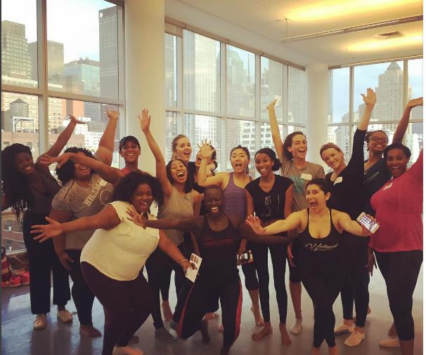 Alvin Ailey Dance Class