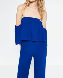 Zara Blue Jumpsuit