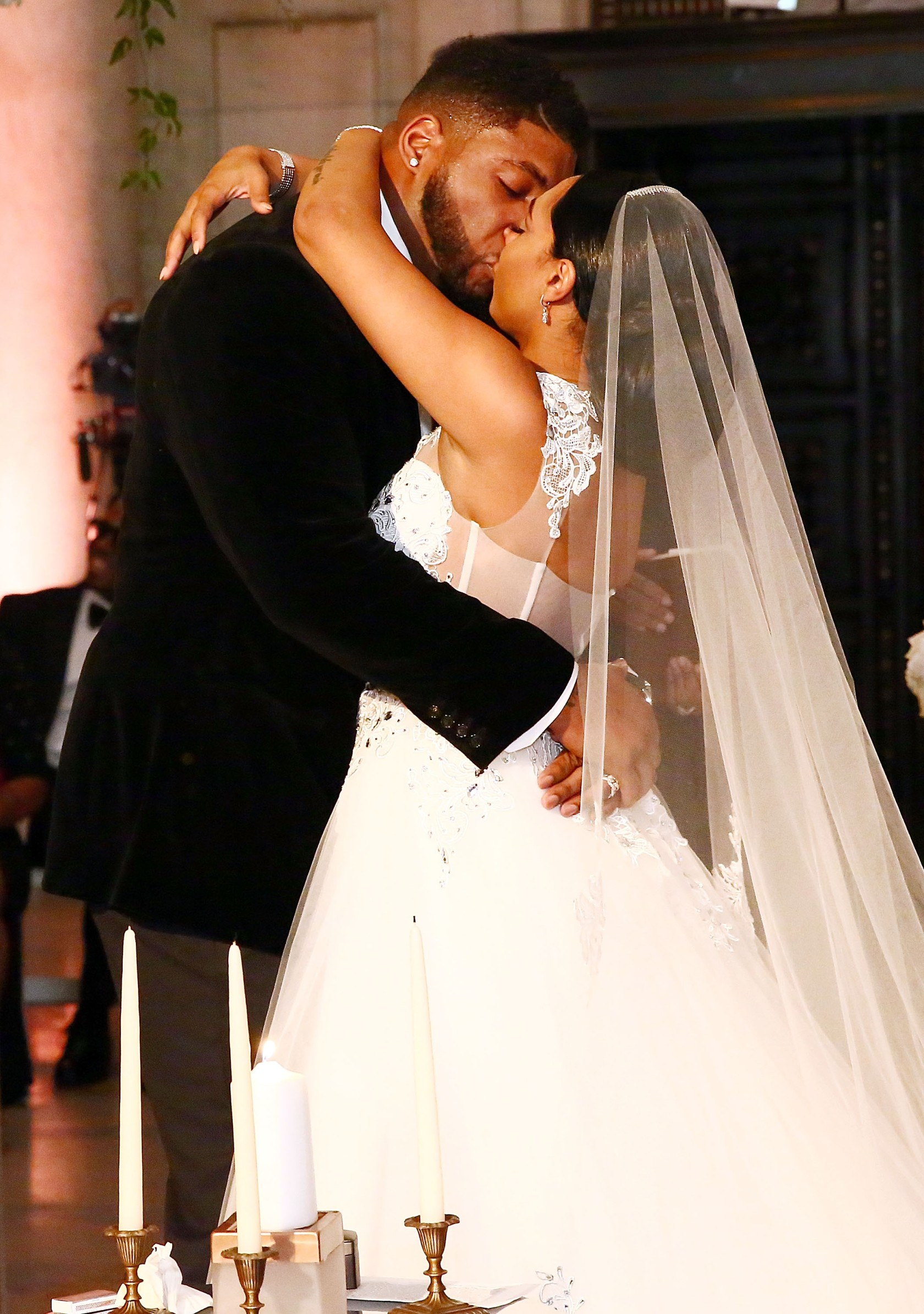 The Knot Dream Wedding - NFL Player Devon Still Marries Asha Joyce