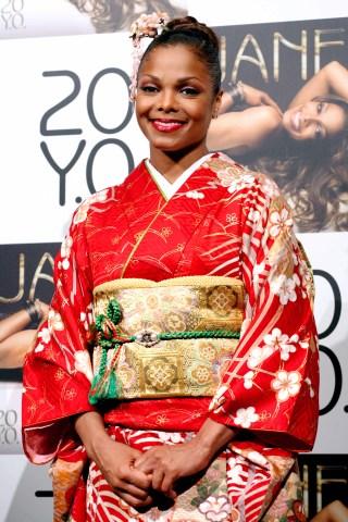 Singer Janet Jackson Visits Japan