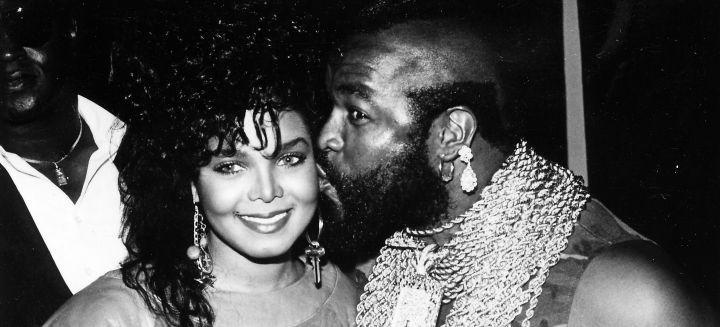 Janet Jackson & Mr T