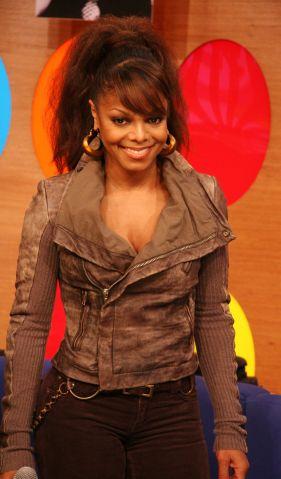 Janet Jackson Appears on BET's 106 & Park - September 25, 2006