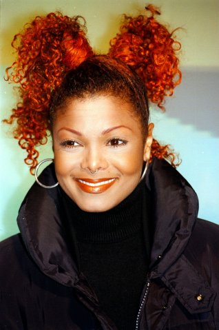 Janet Jackson, Porträt, Sängerin, (Photo by Peter Bischoff/Ge