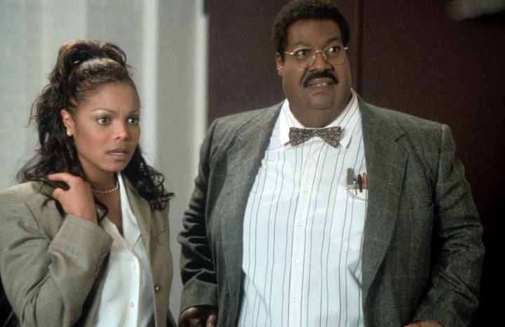 "Janet Jackson & Eddie Murphy In ""The Nutty Professor"""