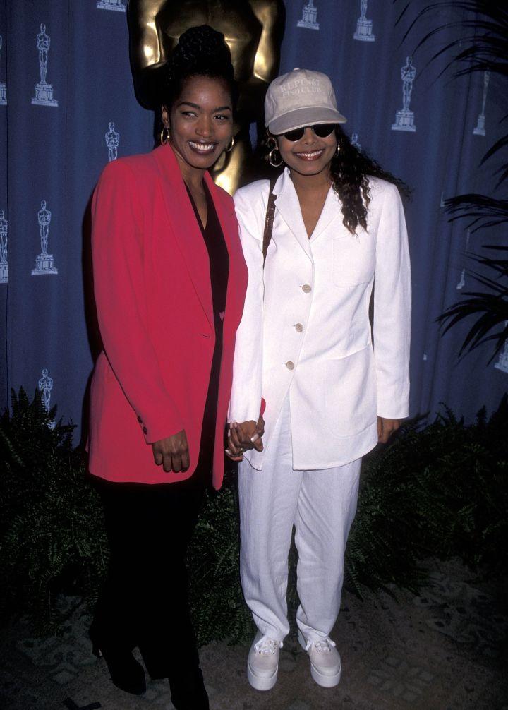 Janet Jackson & Angela Bassett