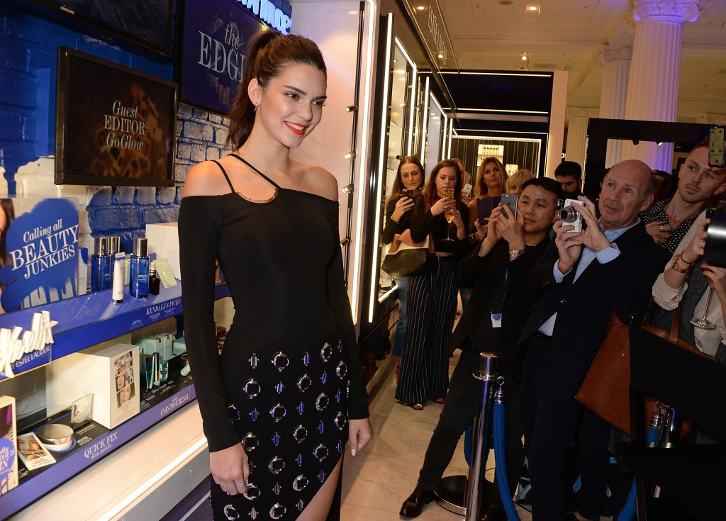 Kendall Jenner launches The Estee Edit at Selfridges