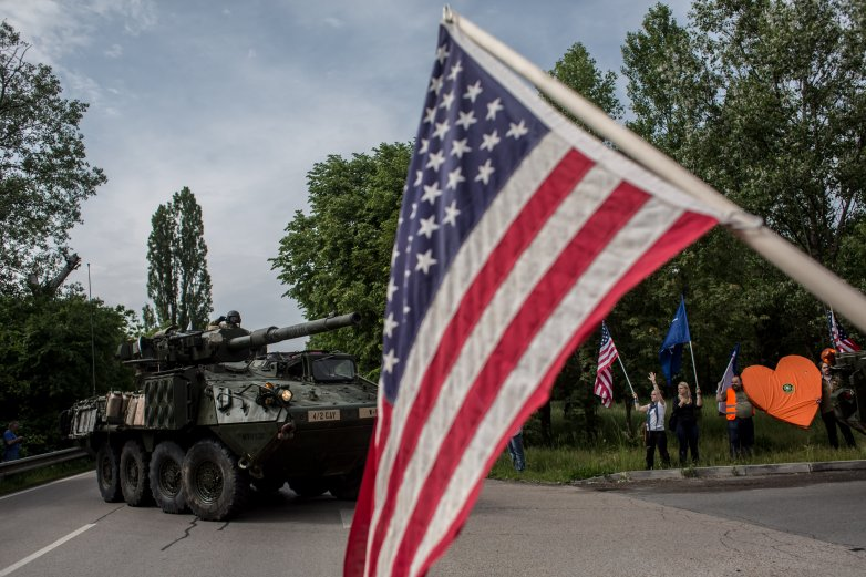 US Army Convoy Heads To Estonia For Saber Strike 16 Exercise