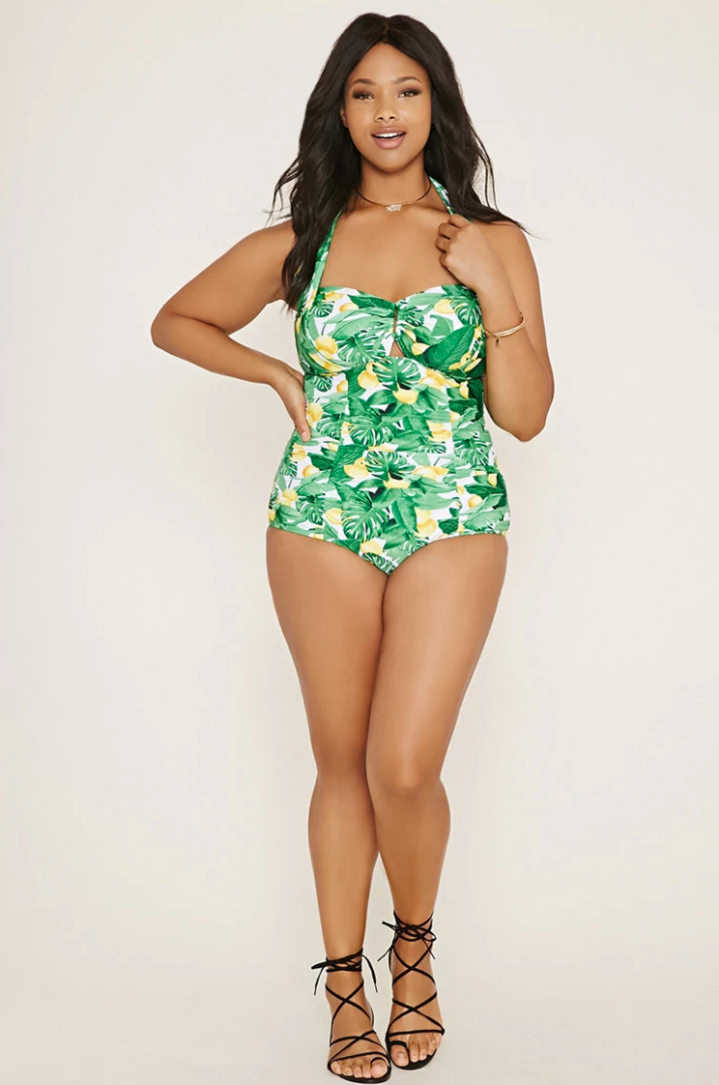 Top me off in a tropical print!