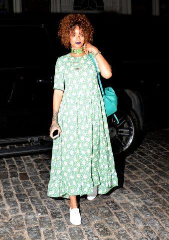 Celebrity Sightings In New York City - July 13, 2015