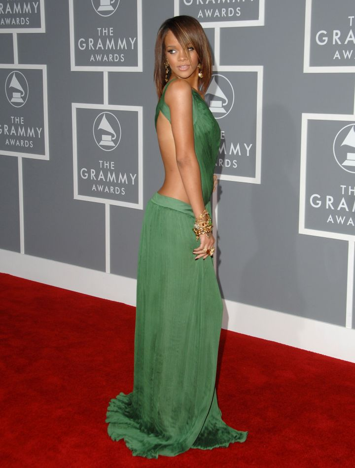 Green for the Grammy's