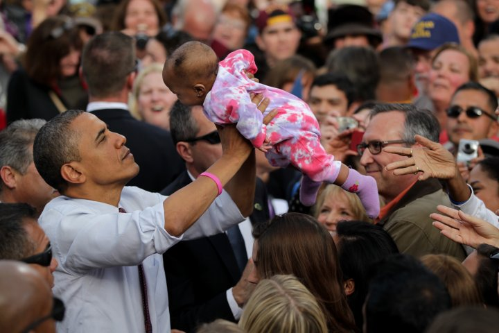 President Barack Obama Campaigns In New Hampshire