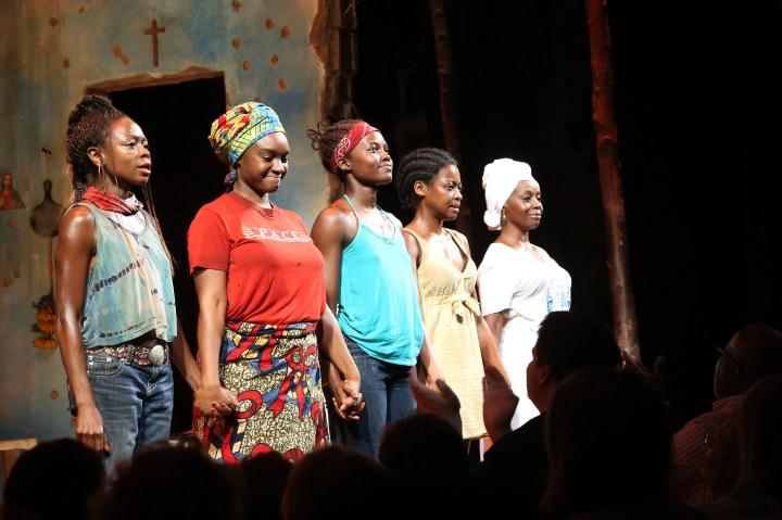 Robert DeNiro Visits Broadway's 'Eclipsed'