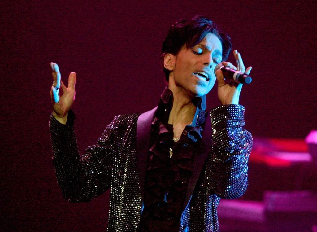 Prince Performs At The Conga Room L.A. Live