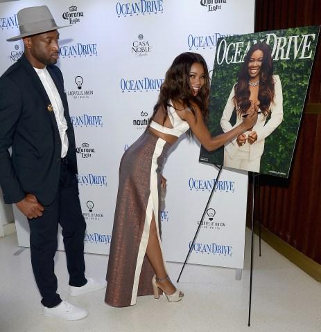 Gabrielle Union Celebrates Ocean Drive Magazine Cover
