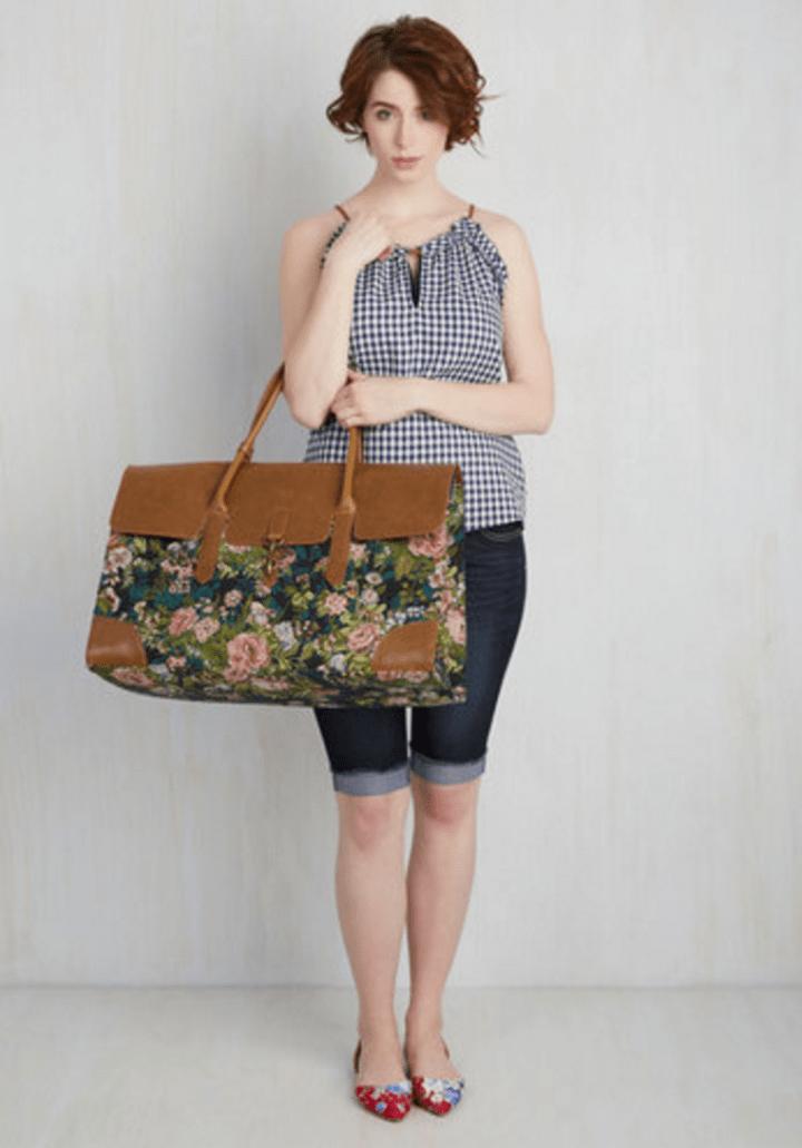 Clever Endeavor Weekend Bag in Bloom