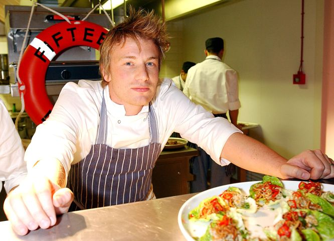 Jamie Oliver's New Restaurant Opening