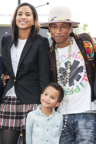 Pharrell Williams Honored With Star On The Hollywood Walk Of Fame