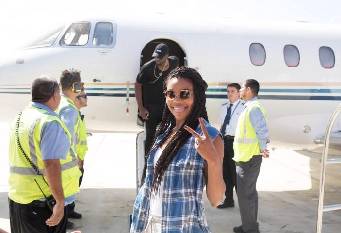 Dwyane Wade Arrives Back In Miami