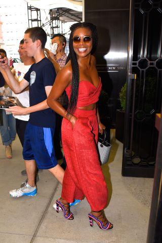 Celebrity Sightings in New York City - July 7, 2016