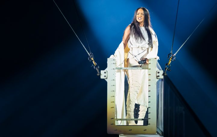Rihanna Performs in Concert in Oslo