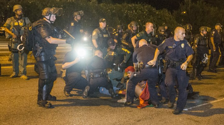 Protests Continue In Baton Rouge After Police Shooting Death Of Alton Sterling